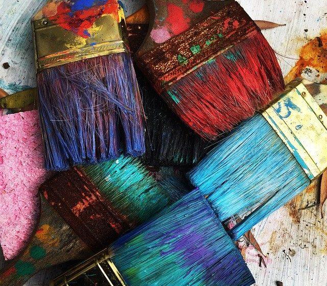 Pintar el suelo, más común e innovador de lo que parece